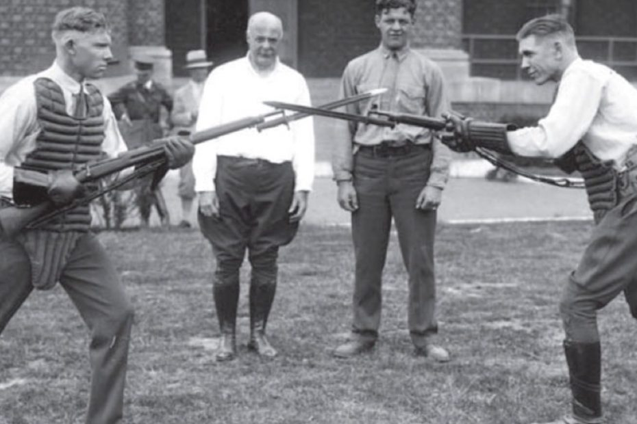 Training for a Knife Fight… in 1913?
