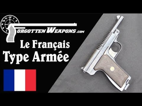 Le Français Type Armée – A Strange Service Pistol