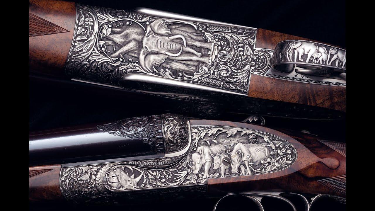 Brawn & Beauty: Holland & Holland High Art Large Bore Double Rifles