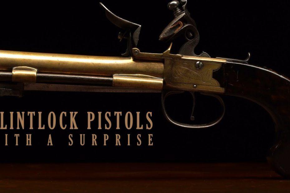 Flintlock Pistols with a Surprise