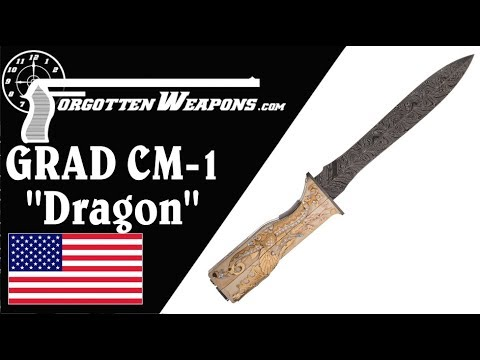 """The Most Ornate Knife-Gun You Will Ever See: CM-1 """"Dragon"""""""