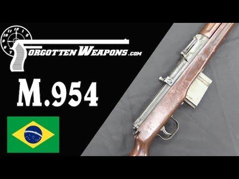 Brazil's .30-06 Copy of the G43: The Mosquetão Semi-Automático M954