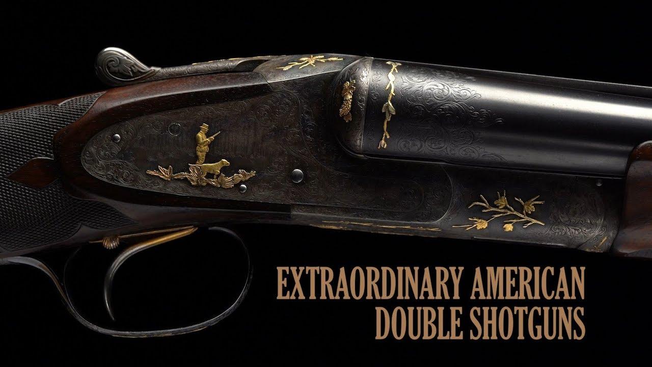Extraordinary American Double Shotguns