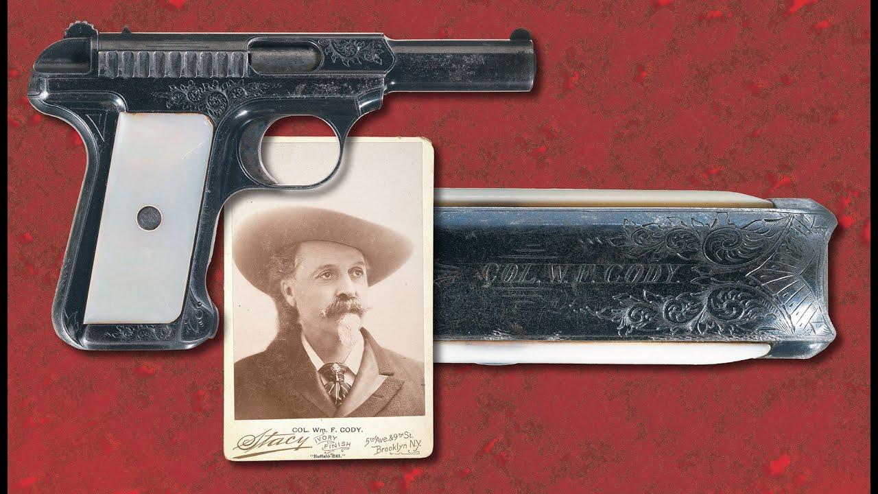 Buffalo Bill Cody's Model 1907 Savage Semi-Automatic