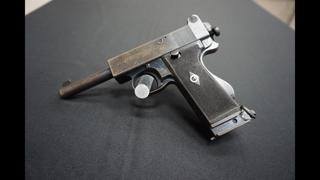 Two Webley Pistols. Two Stories