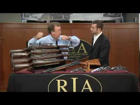 U.S. Military Arms in RIAC's December 2013 Premiere Auction