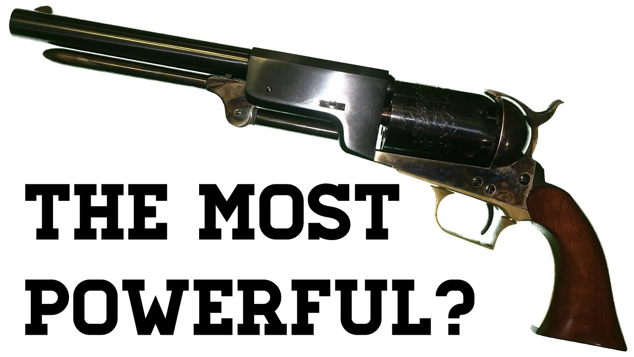 Colt Walker: Was It The Most Powerful?