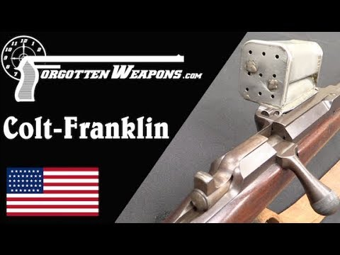 Colt Franklin: Detachable 9-Round Magazine of .45-70 in 1884