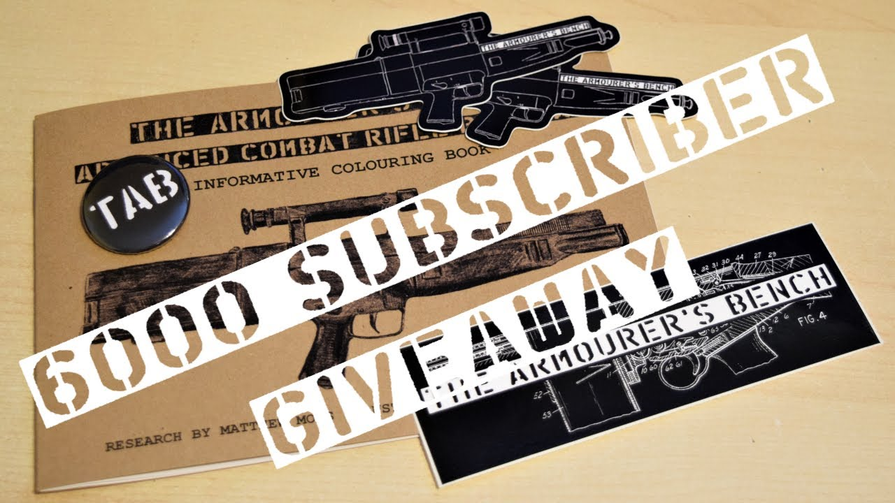 6,000 Subscriber Giveaway Announcement