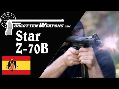 Star Z-70B: Spain's Improved SMG