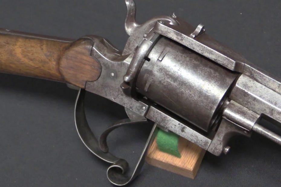 15mm Belgian Pinfire Revolving Rifle