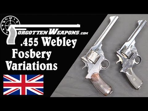 Variations of the .455 Webley Fosbery Automatic Revolver