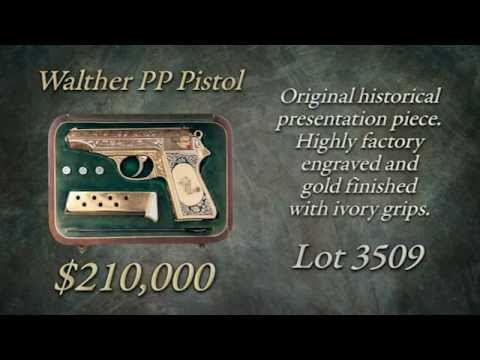 Watch The Sale of Lot 3509 Walther PP Pistol Selling at Rock Island Auction