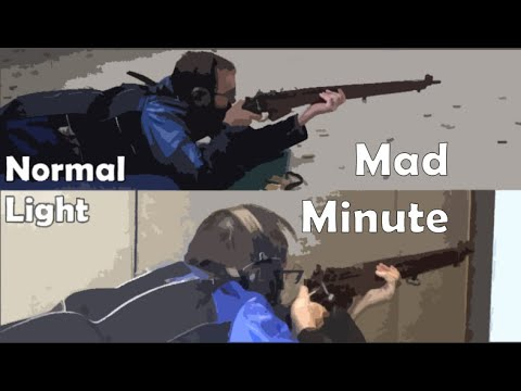 Mad Minutes: Light .303″ Loads in Lee-Enfield No.4