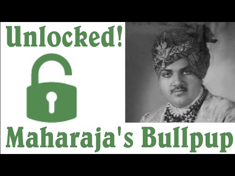 Thorneycroft to SA80 Stretch Goal: The Maharaja's Bullpup