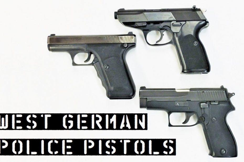 West German Police Pistols – Walther P5, SIG Sauer P6, Heckler & Koch P7