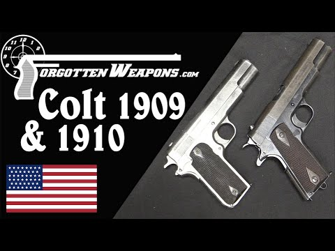 A Few Last Changes Before Perfection: The Colt Models 1909 & 1910