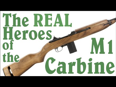 "The REAL Heroes of the M1 Carbine – not ""Carbine"" Williams"