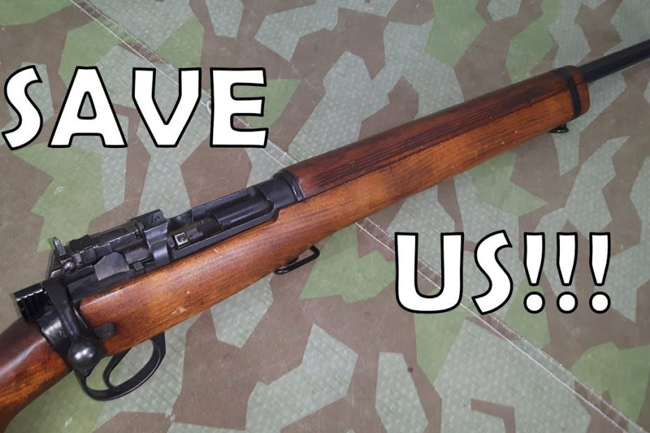 Save the .22″ Lee-Enfield No.8's! Can You Help?