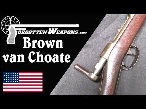 Brown/van Choate Trials Rifle: Internal Hammer in 1871