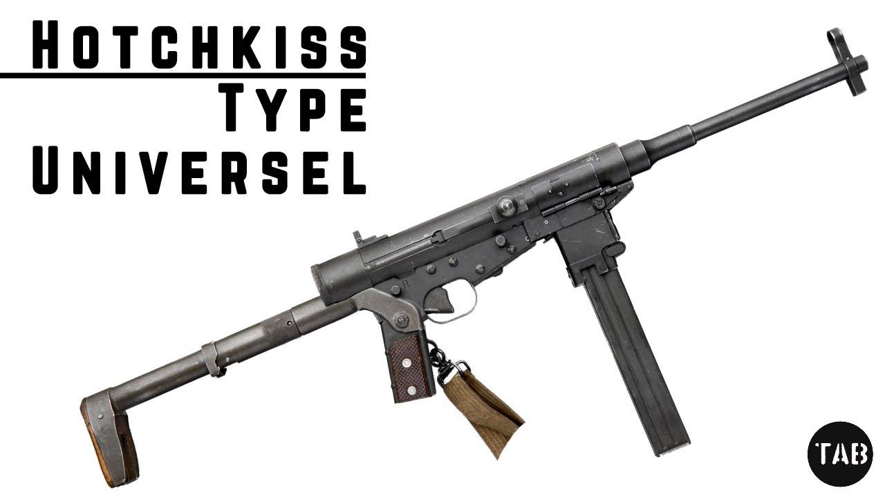 TAB Episode 67: Hotchkiss Universal Submachine Gun