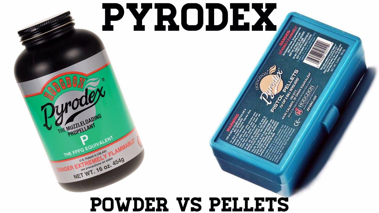 Pyrodex: Powder vs. Pellets