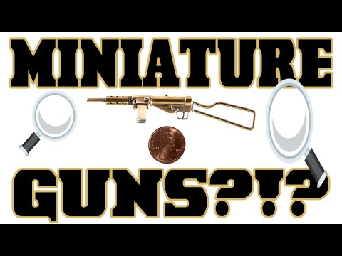Miniature Guns. Big Auction.