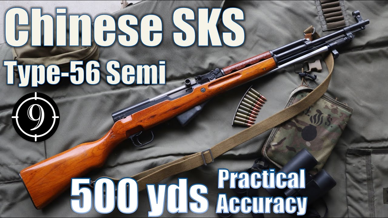 "Chinese SKS • Type56 ""Semi"" to 500yds: Practical Accuracy"