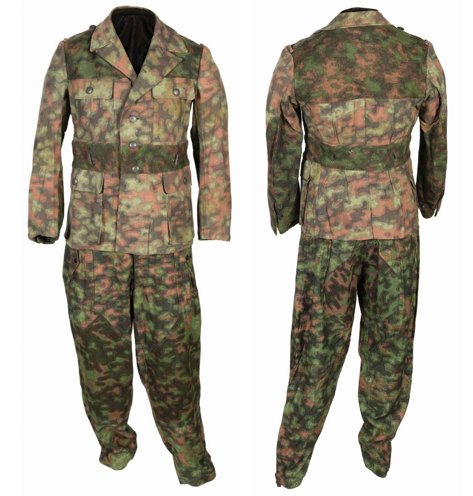 Blurred Edge Camouflage Uniform Grouping