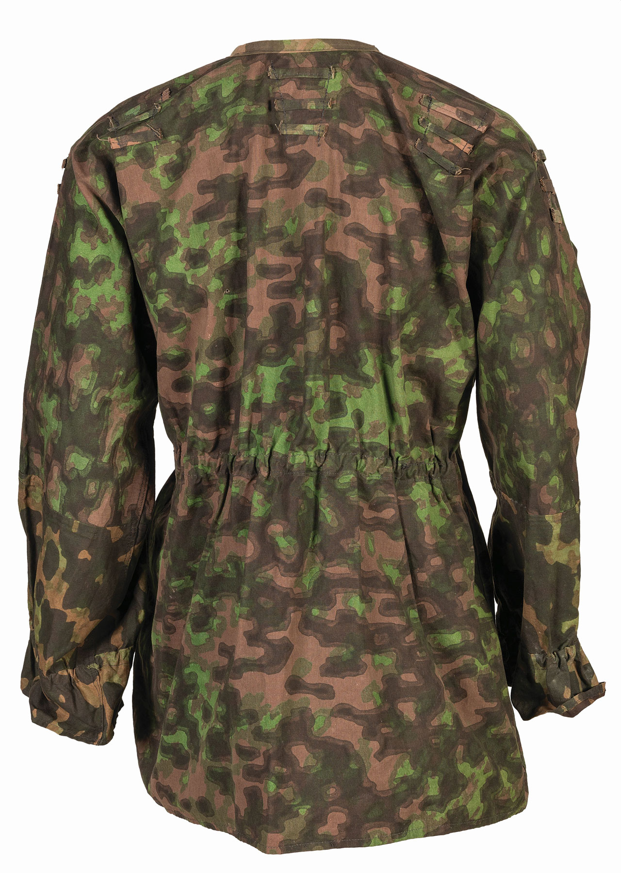 blurred edge smock