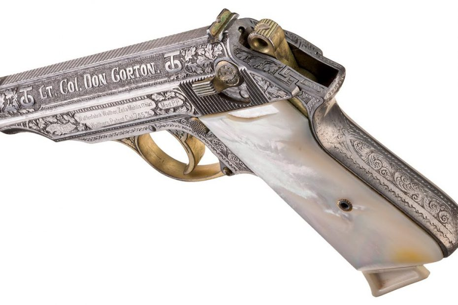 Prize Walther Pistols from WWII