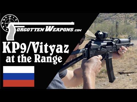 Kalashnikov USA KP-9 (Semiauto Vityaz) at the Range