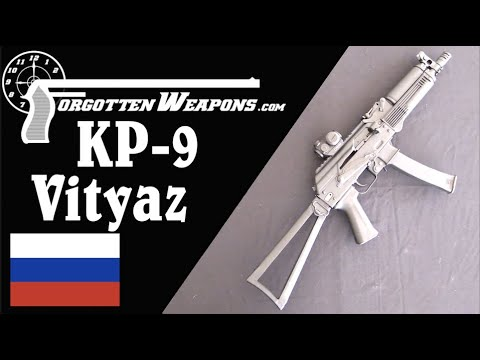 Kalashnikov USA KP-9: A Perfect Copy of the Russian Vityaz SMG