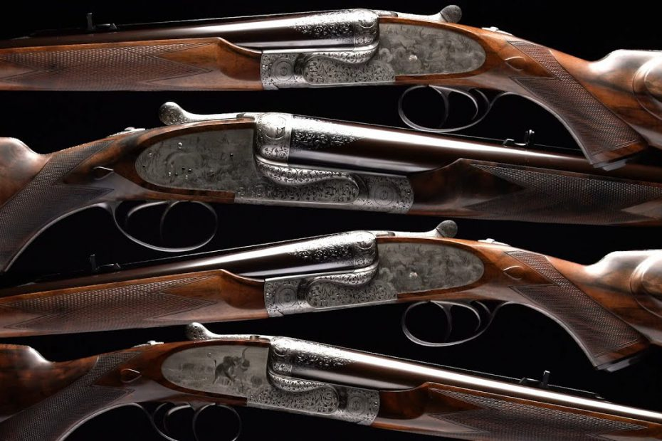 Holland & Holland Masterpiece: Four Safari Rifles by Alan Brown
