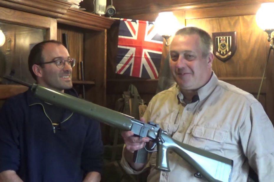 BSA Cadet Trials Rifle: competitor to the 5.56mm L98A1 Cadet GP rifle