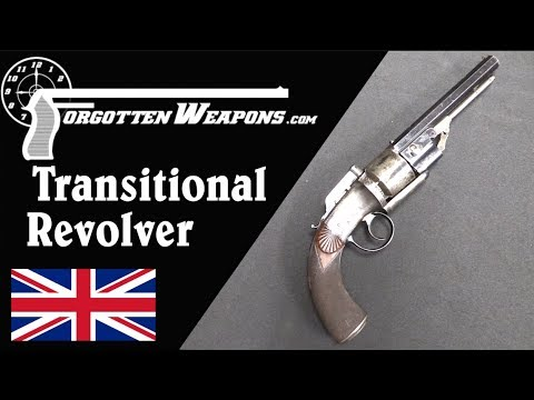 English Transitional Pepperbox Revolver