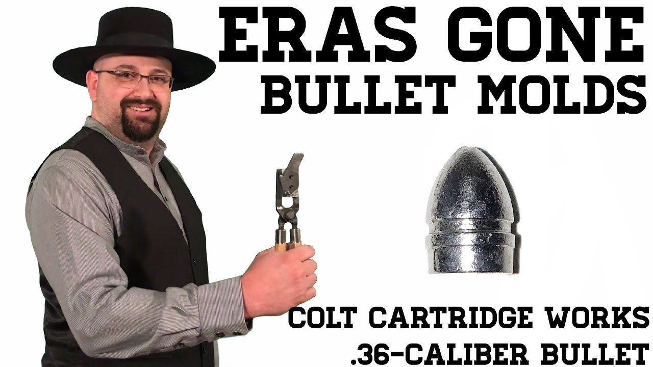 Eras Gone Bullet Molds: .36 Colt Cartridge Works Bullet