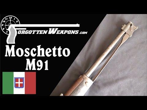 Carcano Moschetto 91 Carbine and its Folding Bayonet