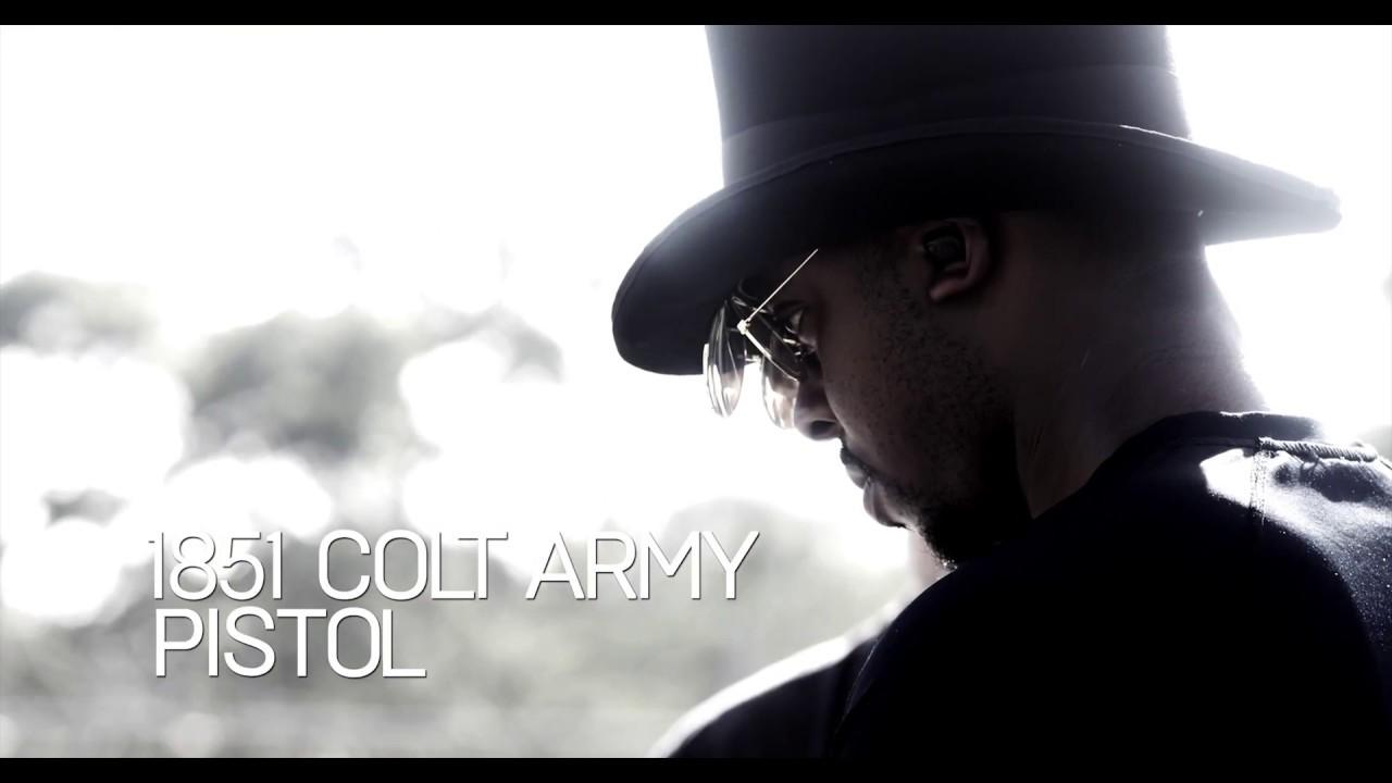 1851 COLT ARMY PISTOL – Colion Noir at IMT