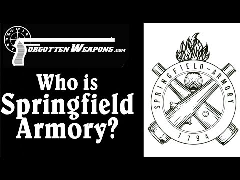 Who is Springfield Armory? A Tale of Two Entities