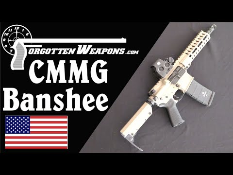 CMMG Banshee: The Unique Radial Delayed Blowback System