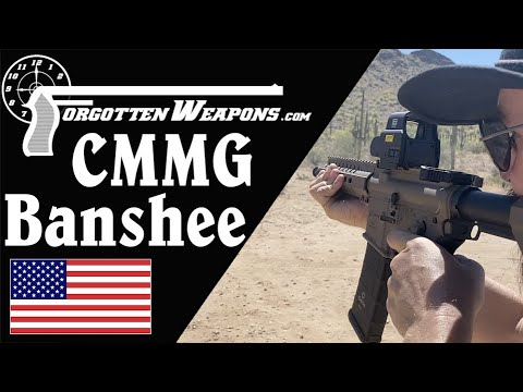 CMMG Banshee at the Range