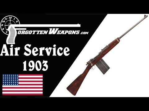 M1903 Springfield – Stripped for Air Service