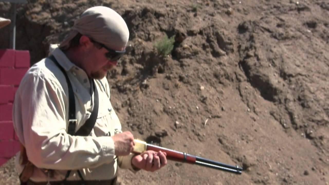 Little Bighorn Memorial 2-Gun Match, with a Winchester 1866