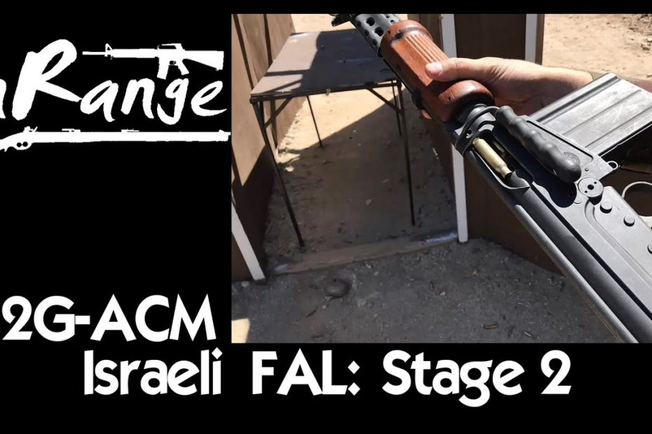 2g-ACM: Israeli Light Barrel FAL – שלב שני