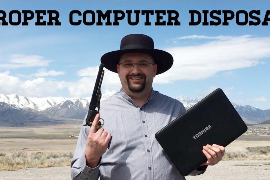 Proper Computer Disposal