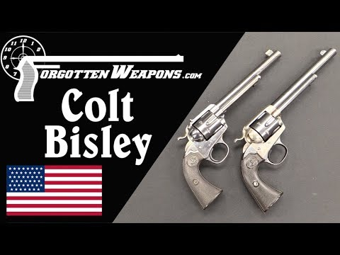 Competition with an SAA: The Colt Bisley and Bisley Target