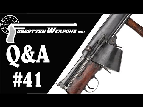Q&A 41: Rebuilding Elbonia, and Lots of British Rifles