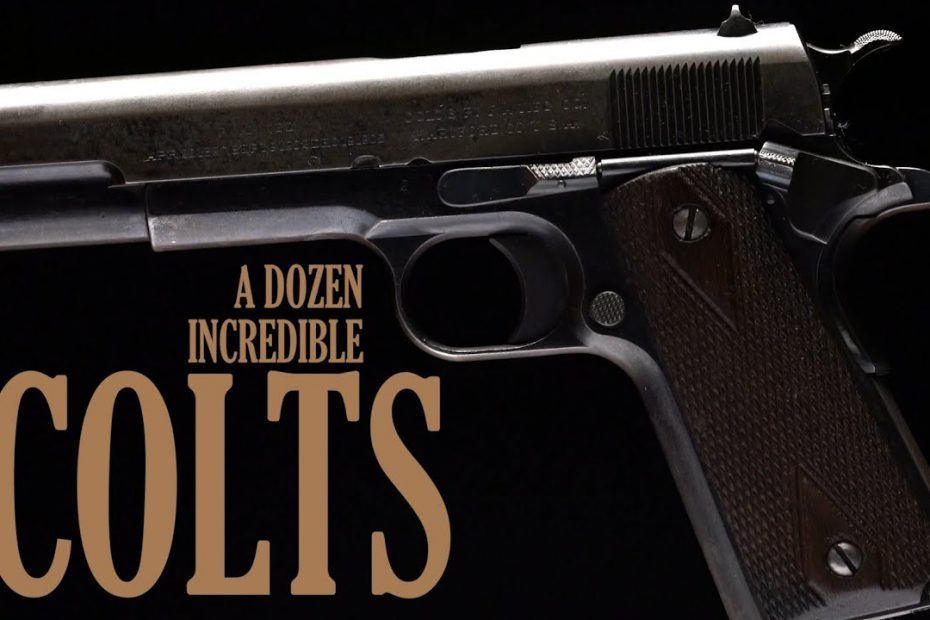 A Dozen Incredible Colts
