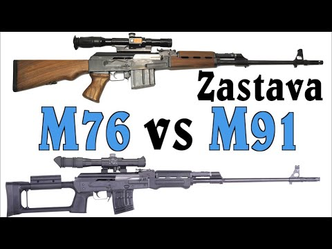 Zastava DMR Showdown: M76 vs M91 at the Range